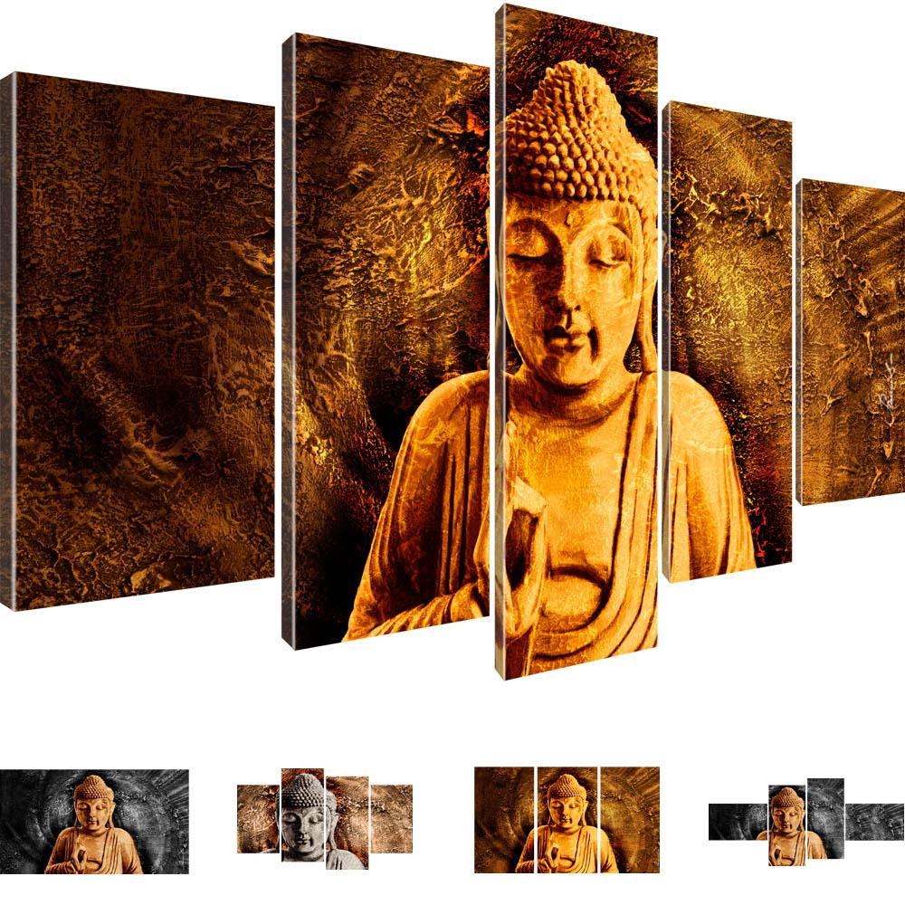 Buddha wandbilder bilder auf leinwand buddhismus der for Kuchenbilder auf leinwand