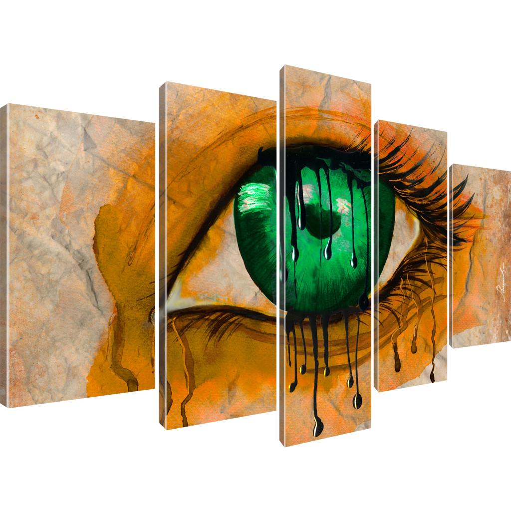 auge bilder kunstdruck auf leinwand wandbild ebay