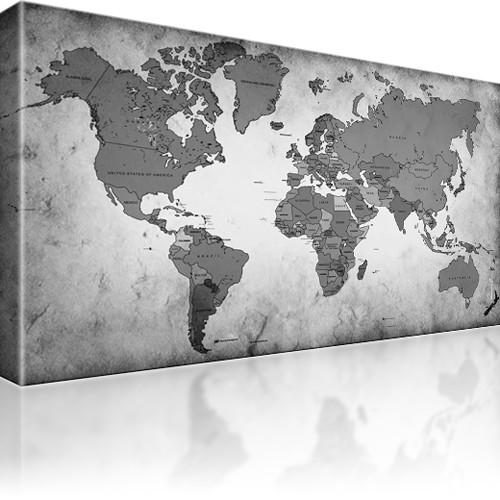 weltkarte wandbild kunstdruck welt karte kunstdruck. Black Bedroom Furniture Sets. Home Design Ideas