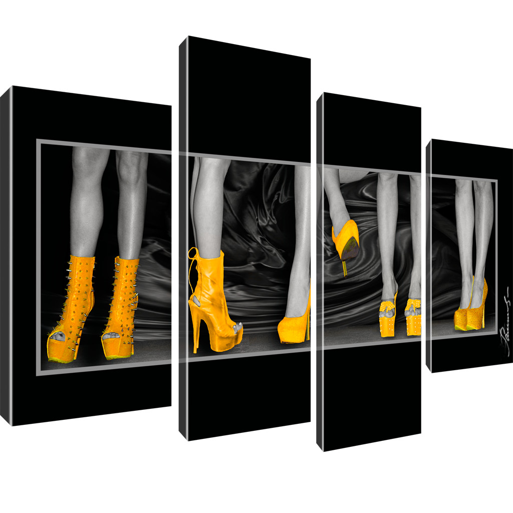 erotik beine wandbild leinwand bilder ebay. Black Bedroom Furniture Sets. Home Design Ideas