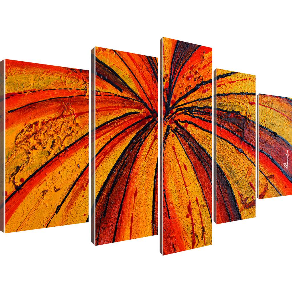 abstraktion bilder wandbilder auf leinwand ebay. Black Bedroom Furniture Sets. Home Design Ideas